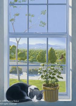 Sylvia Bokor At Quent Cordair Fine Art
